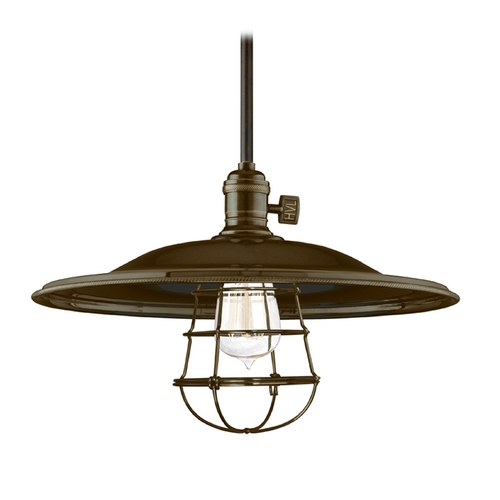 Hudson Valley Lighting Pendant Light in Old Bronze Finish 9001-OB-ML2-WG