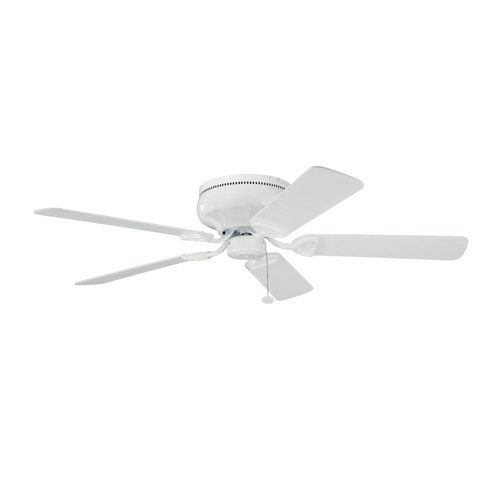Kichler Lighting Kichler Low Profile 52-Inch Ceiling Fan with Five Blades 339022WH