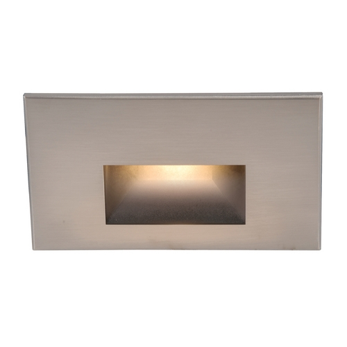 WAC Lighting Wac Lighting Brushed Nickel LED Recessed Step Light WL-LED100-C-BN