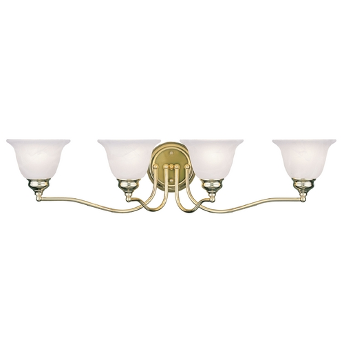 Livex Lighting Livex Lighting Essex Polished Brass Bathroom Light 1354-02