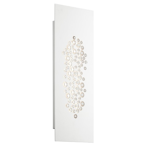 Elan Lighting Elan Lighting Lilla White LED Sconce 83686