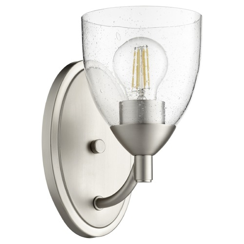 Quorum Lighting Quorum Lighting Barkley Satin Nickel Sconce 5569-1-265