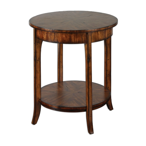 Uttermost Lighting Accent Table in Old Barn Finish 24228