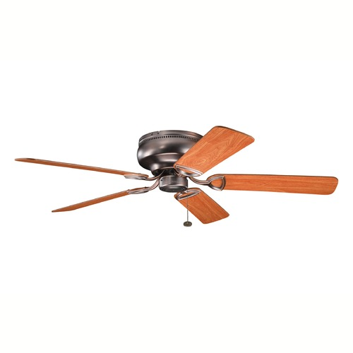 Kichler Lighting Kichler Low Profile 52-Inch Ceiling Fan with Five Blades 339022OBB