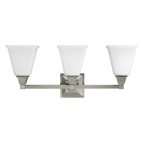 Sea Gull Lighting Sea Gull Lighting Denhelm Brushed Nickel Bathroom Light 4450403-962