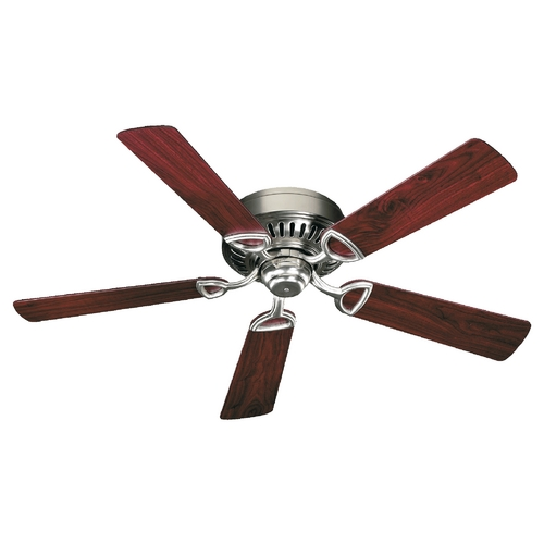 Quorum Lighting Quorum Lighting Medallion Satin Nickel Ceiling Fan Without Light 51525-6522