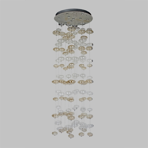 Avenue Lighting Avenue Lighting Coldwater Canyon Chrome LED Multi-Light Pendant HF2002-SML/CLR