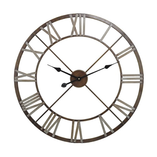 Sterling Lighting Open Center Iron Wall Clock 171-012