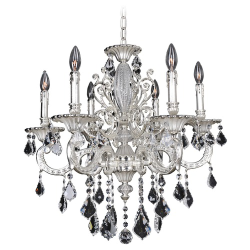 Allegri Lighting Casella 6 Light Crystal Chandelier 024751-017-FR001