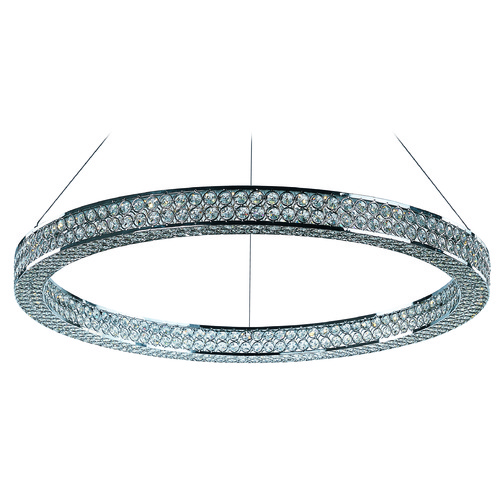 Maxim Lighting Maxim Lighting International Eternity LED Polished Chrome LED Pendant Light 39773BCPC