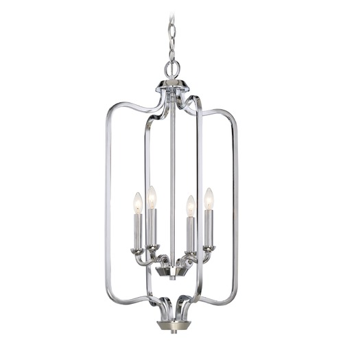Nuvo Lighting Nuvo Lighting Willow Polished Nickel Pendant Light 60/5800