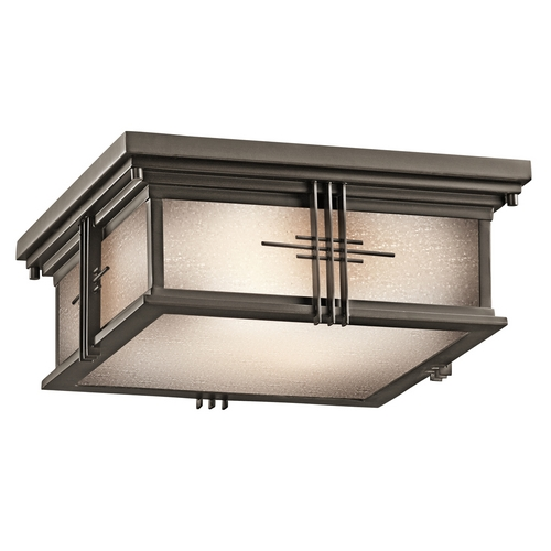 Kichler Lighting Kichler Outdoor Ceiling Light in Bronze Finish 49164OZ