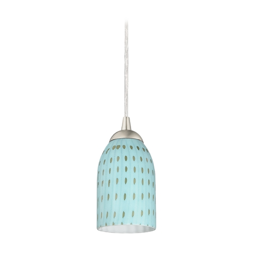 Design Classics Lighting Modern Mini-Pendant Light 582-09 GL1003D