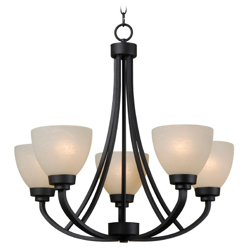 Kenroy Home Lighting Kenroy Home Lighting Dynasty Burnished Bronze Chandelier 93195BBZ