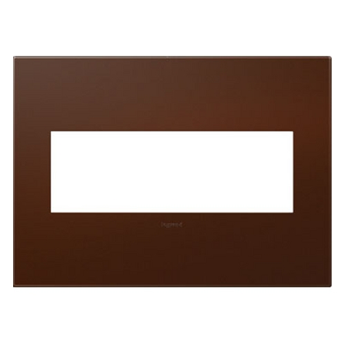 Legrand Adorne Legrand Adorne Soft Touch Russet 3-Gang Switch Plate AWP3GRS4
