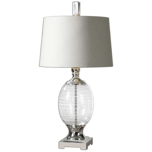 Uttermost Lighting Uttermost Pateros Swirl Glass Lamp 26340