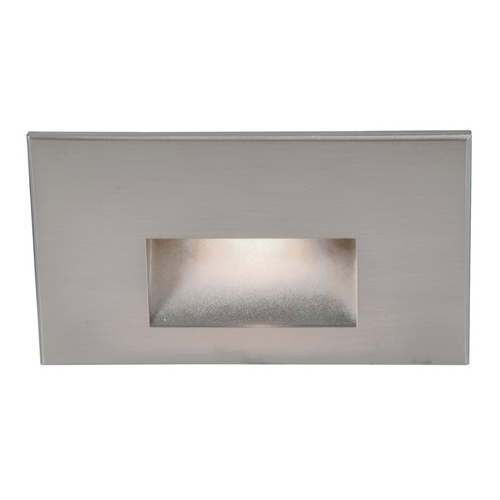 WAC Lighting Wac Lighting Stainless Steel LED Recessed Step Light WL-LED100-C-SS