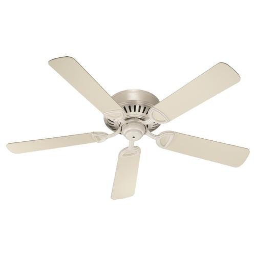 Quorum Lighting Quorum Lighting Medallion Antique White Ceiling Fan Without Light 51525-67