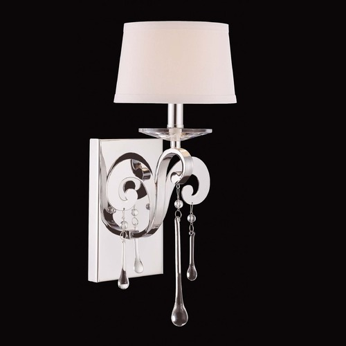 Savoy House Savoy House Polished Chrome Sconce 9-4246-1-11