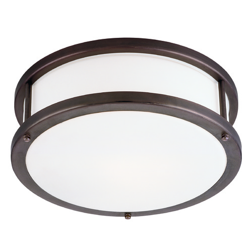 Access Lighting Access Lighting Conga Bronze LED Flushmount Light 50079LEDD-BRZ/OPL