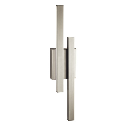 Elan Lighting Elan Lighting Idril Brushed Nickel LED Sconce 83703