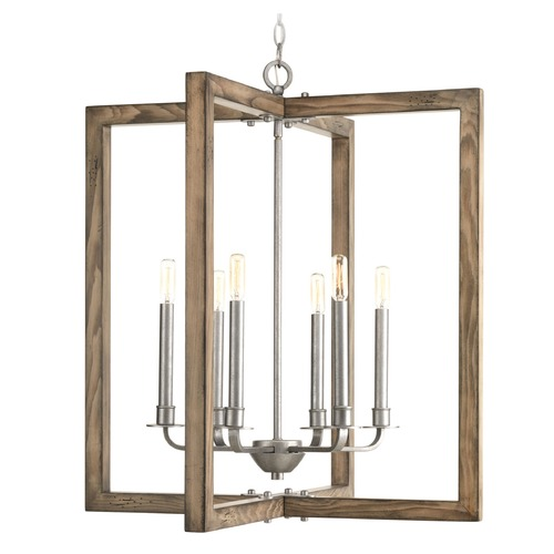 Progress Lighting Progress Lighting Turnbury Galvanized Pendant Light P4761-141