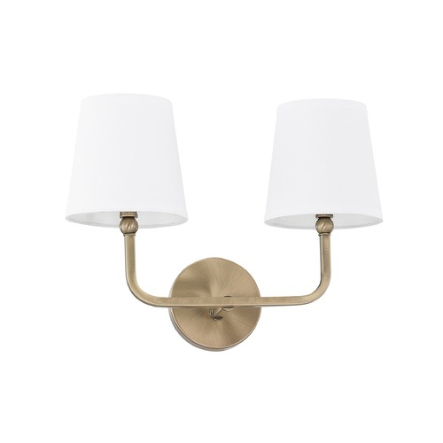 Capital Lighting Capital Lighting Dawson Aged Brass Bathroom Light 119321AD-674