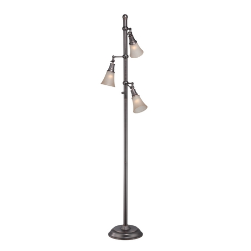 Lite Source Lighting Lite Source Lighting Mercede Copper Floor Lamp with Bell Shade LS-81942