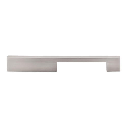 Top Knobs Hardware Modern Cabinet Pull in Brushed Satin Nickel Finish TK24BSN
