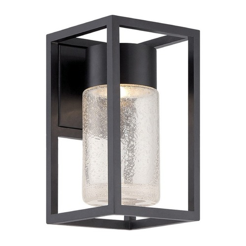 Modern Forms by WAC Lighting WAC Void Black LED Outdoor Wall Light. WS-W5411-BK