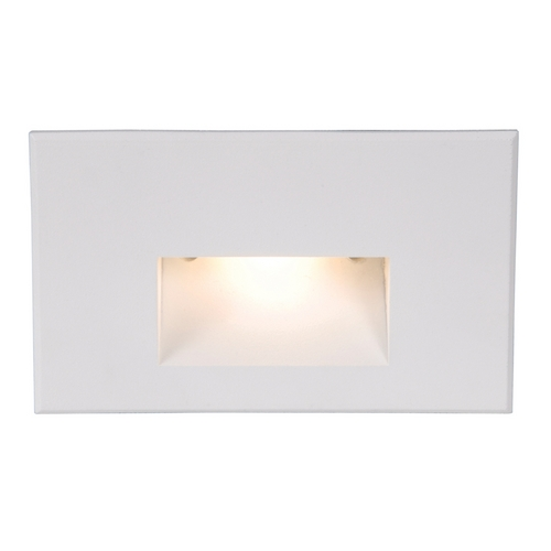 WAC Lighting WAC Lighting White LED Recessed Step Light with White LED WL-LED100-C-WT