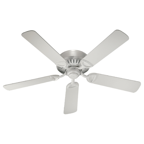 Quorum Lighting Quorum Lighting Medallion Studio White Ceiling Fan Without Light 51525-8