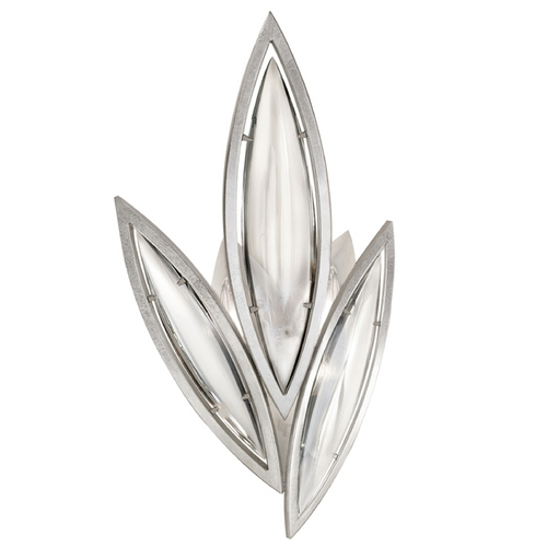 Fine Art Lamps Fine Art Lamps Marquise Platinized Silver Leaf Sconce 849250-11ST