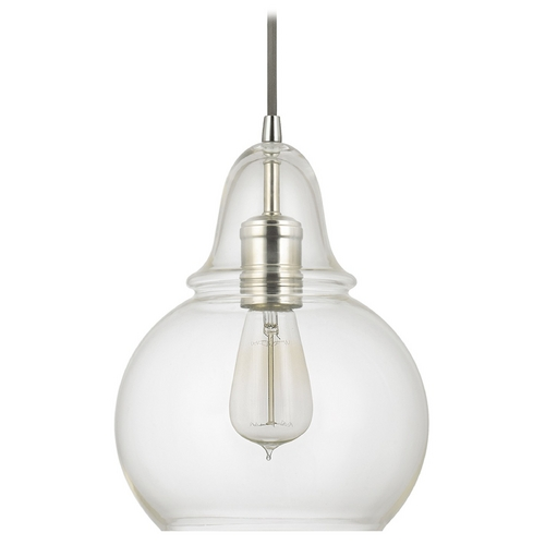 Capital Lighting Capital Lighting Polished Nickel Mini-Pendant Light 4644PN-143
