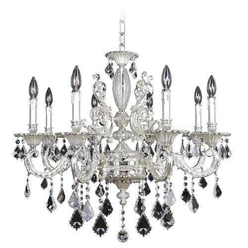 Allegri Lighting Casella 8 Light Crystal Chandelier 024752-017-FR001