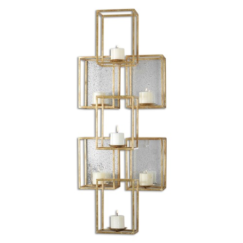 Uttermost Lighting Uttermost Ronana Mirrored Wall Sconce 07693