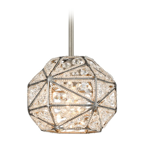 Elk Lighting Elk Lighting Constructs Weathered Zinc Mini-Pendant Light 11835/1