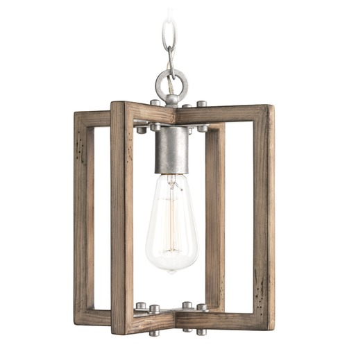 Progress Lighting Progress Lighting Turnbury Galvanized Mini-Pendant Light P5317-141