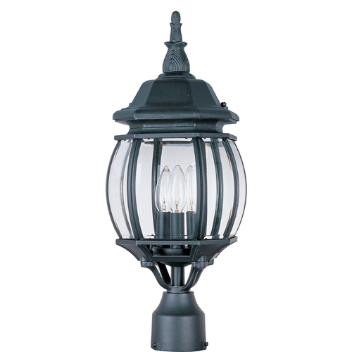 Maxim Lighting Maxim Lighting Crown Hill Black Post Light 1035BK
