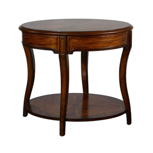 Uttermost Lighting Table in Pecan Finish 24231