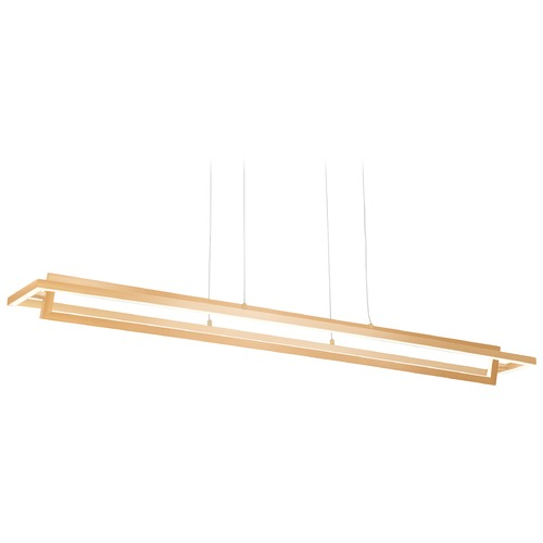 Kuzco Lighting Kuzco Lighting Modern Soft Gold LED Pendant 3000K 1050LM LP16140-SG