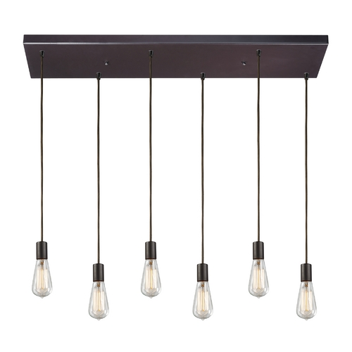 Elk Lighting Multi-Light Pendant Light 6-Lights 60046-6RC