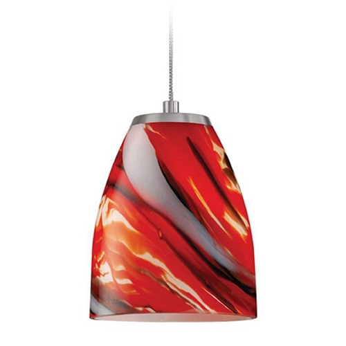Elk Lighting Low Voltage LED Mini-Pendant Light PF1000/1-LED-BN-CY