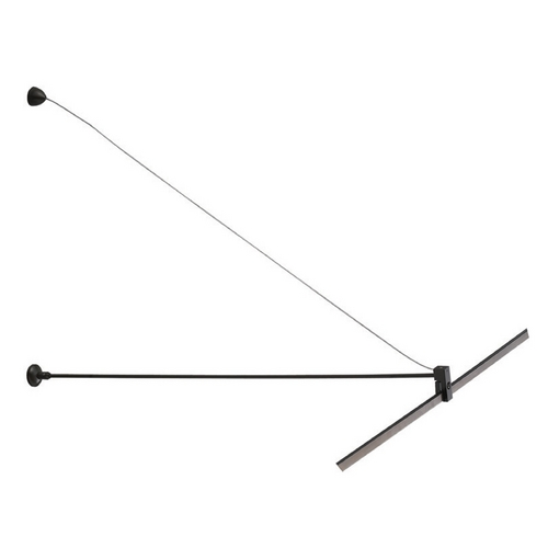 WAC Lighting Wac Lighting Dark Bronze Rail, Cable, Track Accessory LM-OW-DB