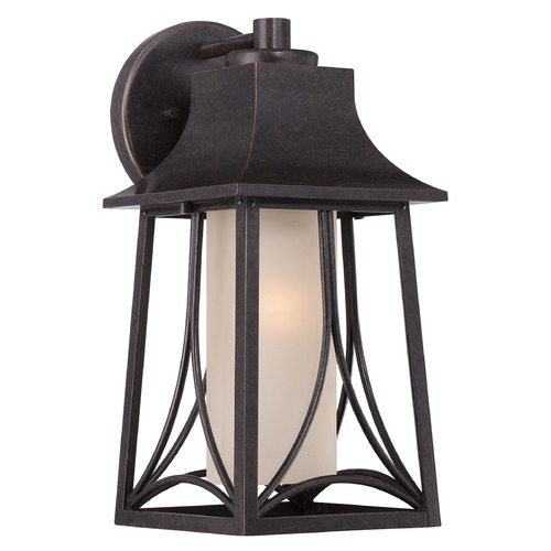 Quoizel Lighting Quoizel Hunter Imperial Bronze Outdoor Wall Light HTR8407IB