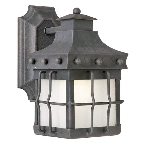 Maxim Lighting Maxim Lighting Nantucket Country Forge LED Outdoor Wall Light 56081FSCF