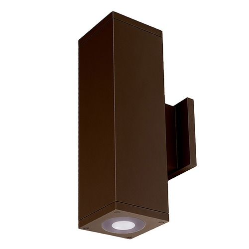 WAC Lighting Wac Lighting Cube Arch Bronze LED Outdoor Wall Light DC-WD06-U830B-BZ