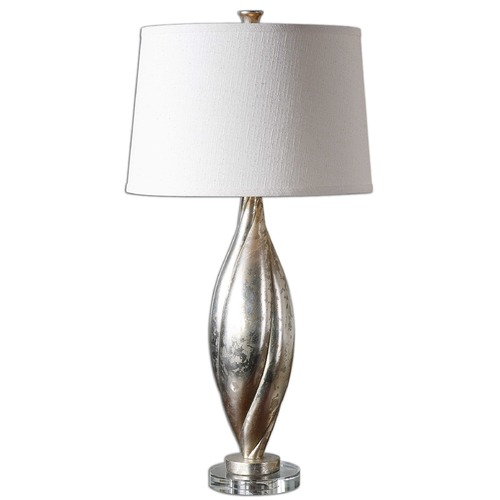 Uttermost Lighting Uttermost Palouse Champagne Leaf Lamp 26343