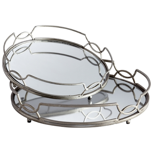 Cyan Design Cyan Design Lady Anne Stainless Steel Tray 05812