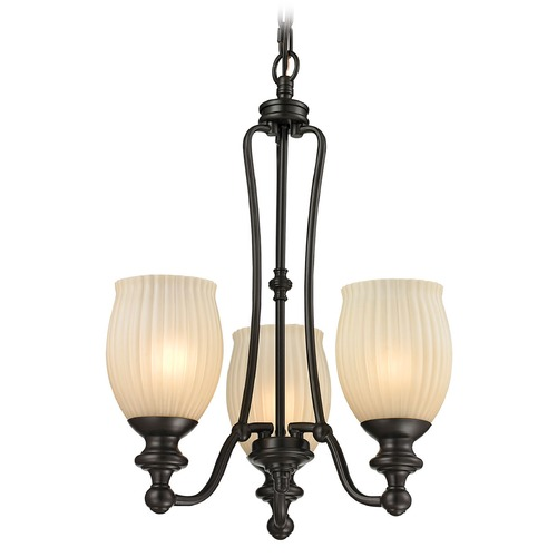 Elk Lighting Elk Lighting Park Ridge Oil Rubbed Bronze Mini-Chandelier 11655/3